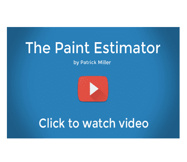 The Paint Estimator | Estimating Software for Painting